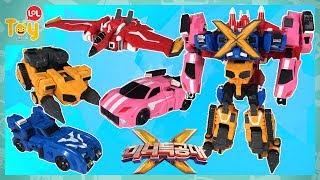 최강전사 미니특공대X 4단 합체 로봇 특공X머신 새로운 모습 새미봇 볼트봇 루시봇 맥스봇 어린이 장난감 [토이롤]
