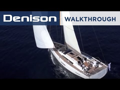 Dufour Yachts 560 Grand Large Interior Walkthrough