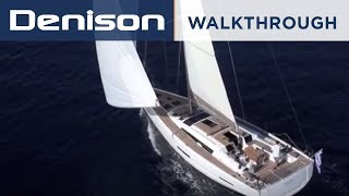 dufour yachts 560 grand large interior walkthrough