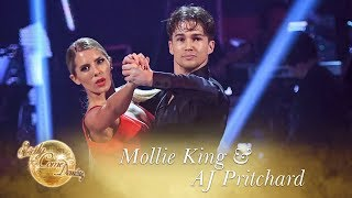 Mollie King and AJ Pritchard Tango to