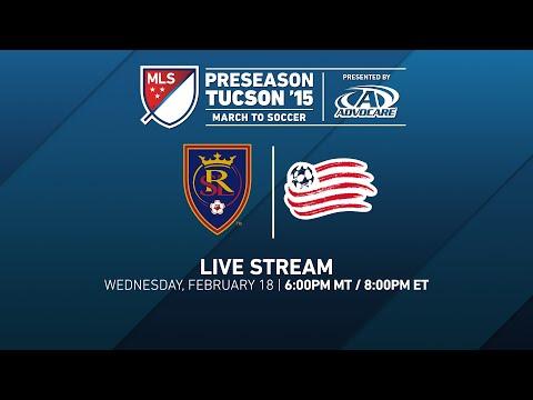 Real Salt Lake vs. New England Revolution | Desert Diamond Cup 2015