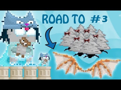 GrowTopia - ROAD TO DA VINCI WING! | Episode #3 - MAKING 2K TREES OF RIPPER WINGS!!