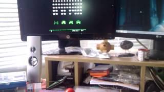 Joystick test for the MAME desktop cabinet
