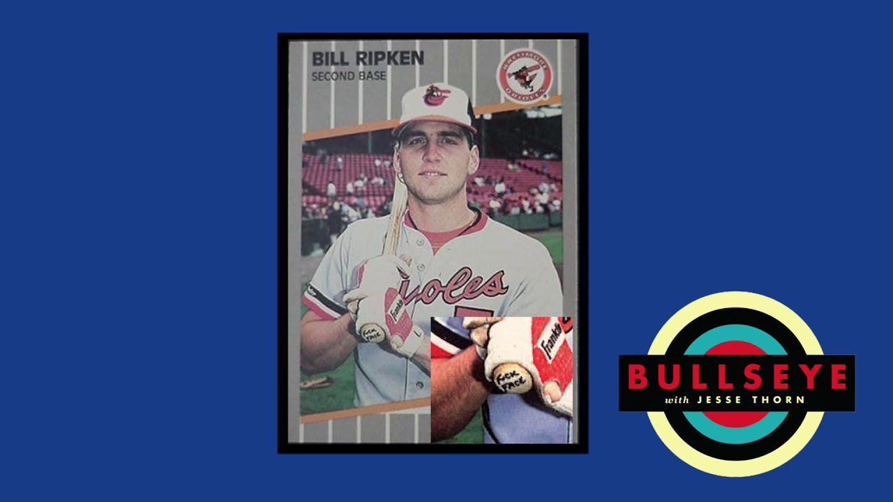 Bullseye The Outshot 1989 Billy Ripken Baseball Card