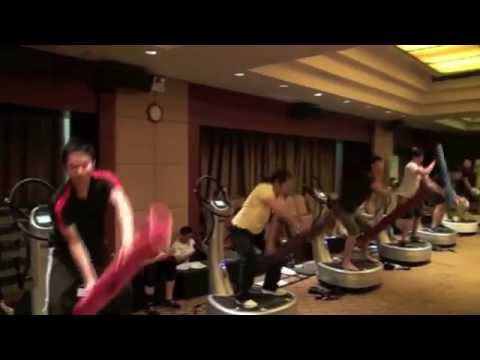 Power Plate | 30 second sizzle reel from a Shunde, China Integrated Fitness workshop