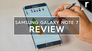 Samsung Galaxy Note 7 Review: Big and bloody brilliant