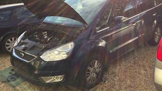 How to replace diesel fuel filter Ford Galaxy/S-Max/Mondeo