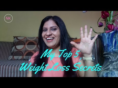 My Top 5 Secrets For Weight Loss | Nainja Kapoor