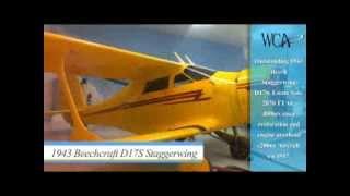 1943 Beechcraft D17S Staggerwing  - WC Aeronautica