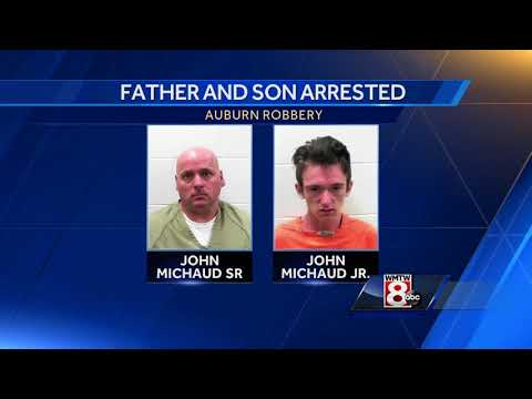 Father, son charged with robbing, tying up Auburn homeowner