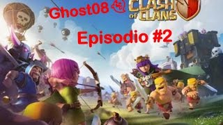Clash of clans/ Eps.2 A por los logros/ Ghost08