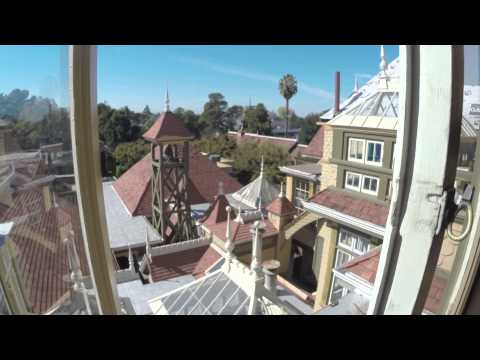 Winchester Mystery House, San Jose California Oct.