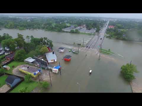 Tropical Storm Harvey Causes Houston