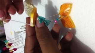 DIY : Easy paper Quilling - flower (II)  Tutorial