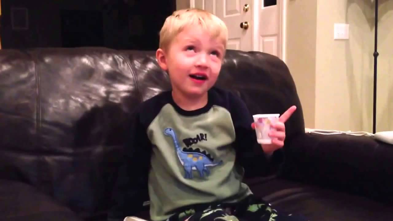 little kid says all the bad words he knows youtube