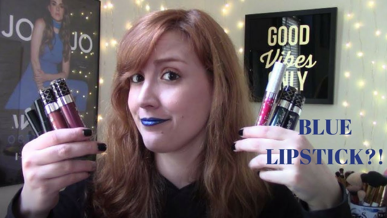 Testing Trends- Glitter/Metallic Lips (with Kat Von D, Ciate London ...