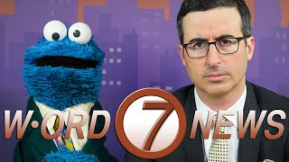 John Oliver And Cookie Monster Team Up To Anchor A News Special On