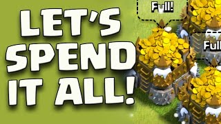 "Clash of Clans: ""Dark Elixir and Gold Spending Spree! 