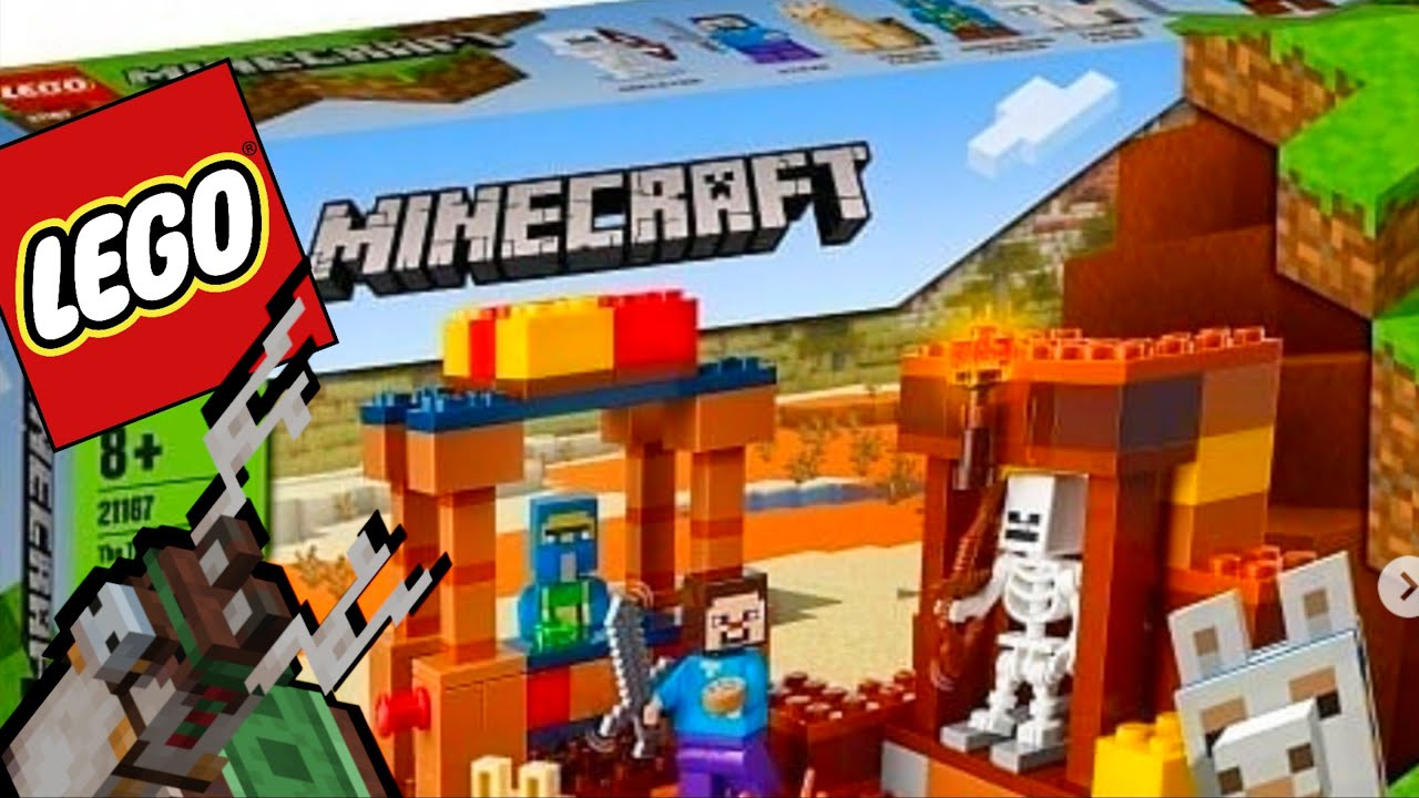 LEGO Minecraft 8 Sets CONTROVERSIAL leaks lego 8 lego news NEW