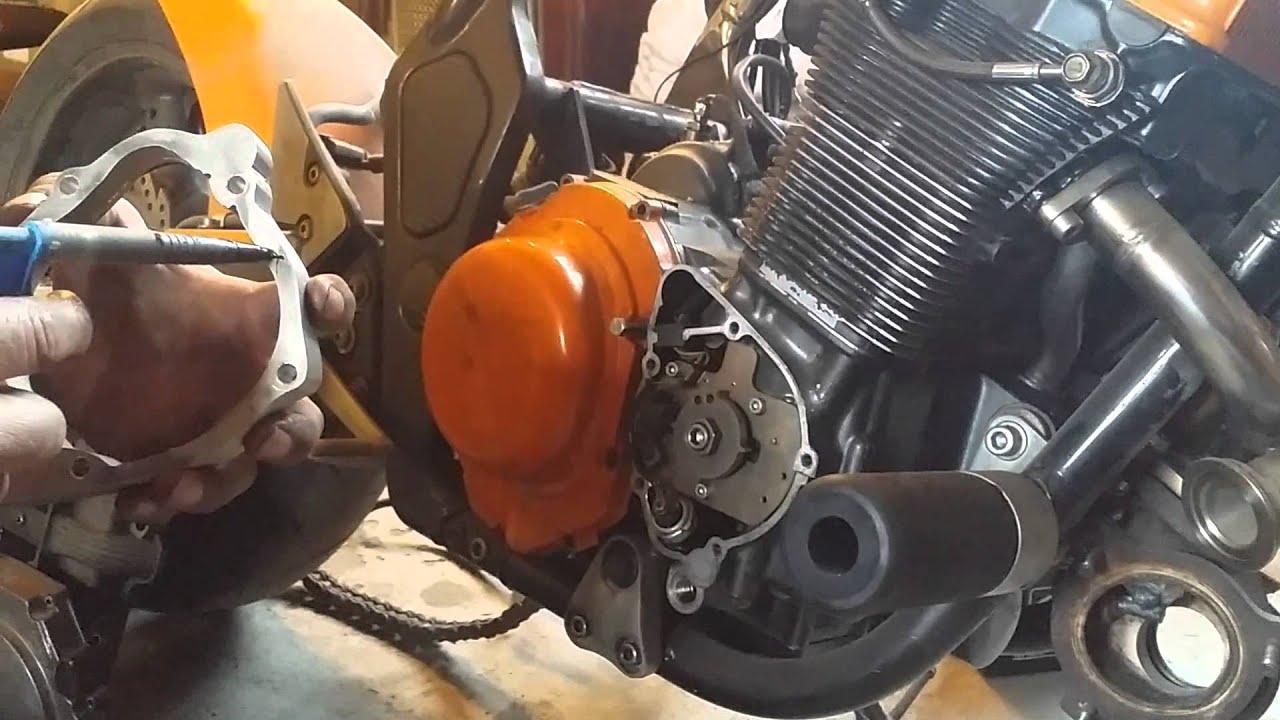 installation scavenge pump for Bandit 1200 and gsxr 1100