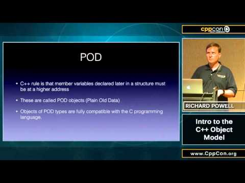 "CppCon 2015: Richard Powell ""Intro to the C++ Object Model"""