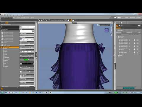 Persistently hiding a subset of faces on an existing figure in DAZ Studio