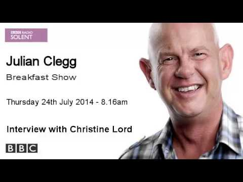 BBC Radio Solent - Christine Lord - 24th July 2014
