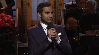 Aziz Ansari calls out Trump supporters