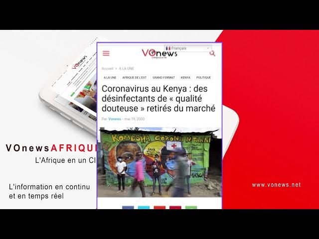 REVUE DE PRESSE 19 MAI | Coronavirus en Afrique : top 5 des pays les moins stressés