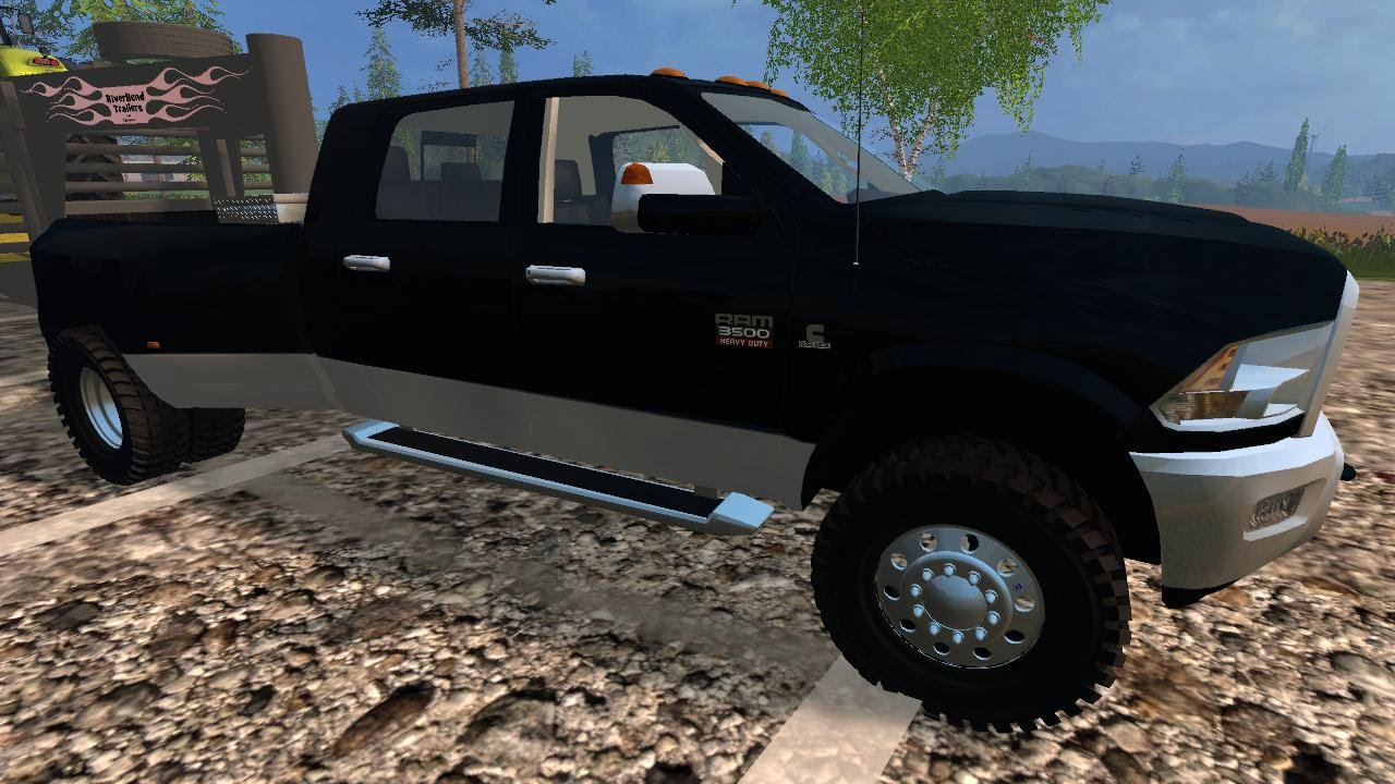 Farming simulator 2015 mods dodge ram 3500