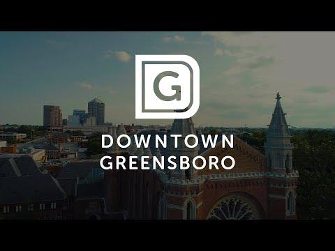 Downtown Greensboro 2017