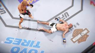 EA SPORTS UFC 2 Knockout Montage 2
