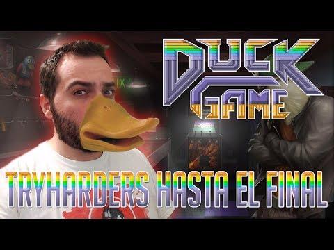 TRYHARDERS HASTA EL FINAL | DUCKGAME #Rageduels Vs/ None, Zellen y Meko