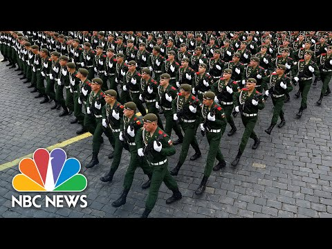 Russia Displays Military Might in Annual Victory Day Parade | NBC News