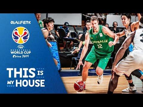 Australia v Japan - Highlights - FIBA Basketball World Cup 2019 Asian Qualifiers