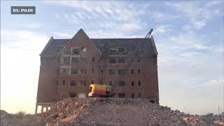 Adiós al San Rafael: así fue la demolición del hotel en Punta del Este
