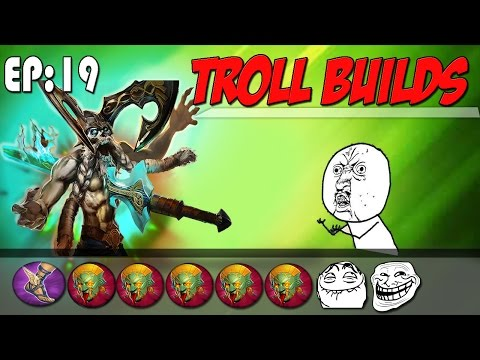 All Serpants Mask Krul! | Vainglory Troll Builds Ep. 19