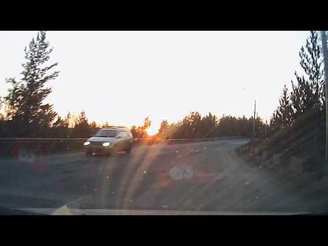 Видеорегистратор Pramiro T626. DVR Камера 1080 P Full HD 170 градусов. Вечерняя съёмка.