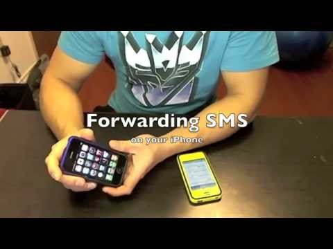 Auto-Forwarding SMS on your iPhone via Email