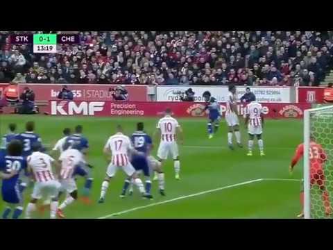 Stoke City vs Chelsea 1-2 EPL 2017 - Highlights & Goals