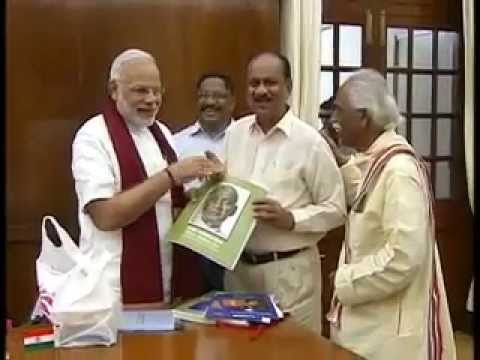 PM releases Biography of Sardar Vallabhbhai Patel in Braille