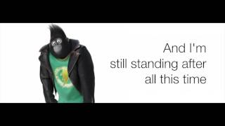 Sing  I'm Still Standing Taron Egerton Lyrics