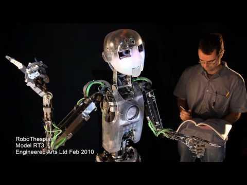 Meet RoboThespian: the British robotic actor