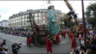 Vidéo 360 : la Saga des Géants à Genève