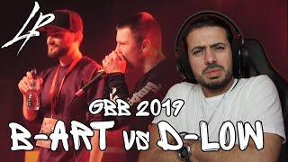 B-ART vs D-LOW   GBB 2019   SEMI FINAL *Reaction*   MAN GOT DISRESTPECTFUL WITH IT!!!
