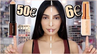 Fond De Teint Makeup REVOLUTION contre HOURGLASS !!!😱