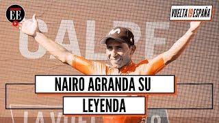 Nairo Quintana gana la segunda etapa de la Vuelta a España - El Espectador