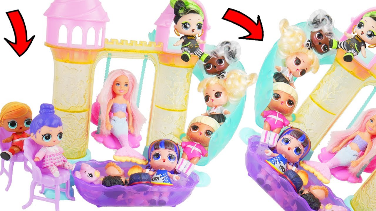 LOL OMG Makeover DIY Custom Limited Tub Grotto OMG Boy