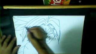 HOW TO DRAW FUTURE TRUNKS SSJ2