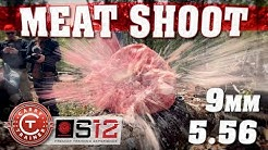 Bullets vs Meat - 556 & 9mm FMJ with Slow Motion | S12 Myrtle Beach, SC